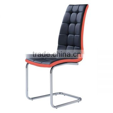 Direct buy furniture high back leather dining chair made in china