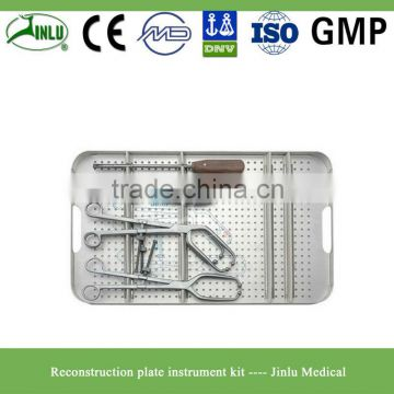 Reconstruction plate orthopedic implants