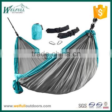 Outdoor Durable Swing Single Person Parachute Hammock