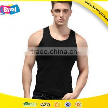 d0054a12d399f Wholesale plain tank tops blank gym mens stringer singlet vest of ...