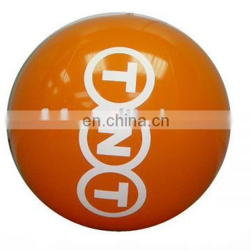 Inflatable water beach ball with customized printing