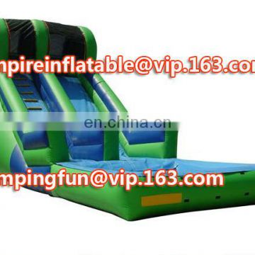 2016 Hot sale giant inflatable water slide, medium size inflatable slide, kids inflatable slide ID-SLM068