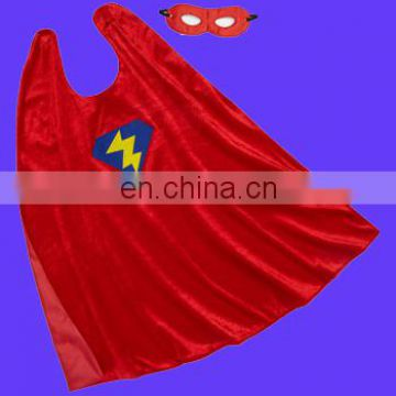 Hot red wholesale superhero cape