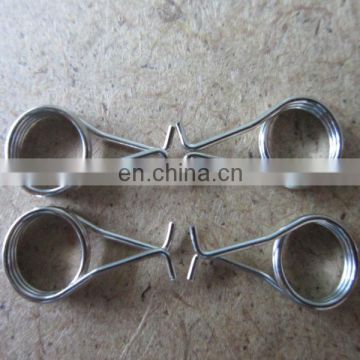 OEM High Precision Stainless Steel V Type Metal Torsion Spring for Kinds of clip products