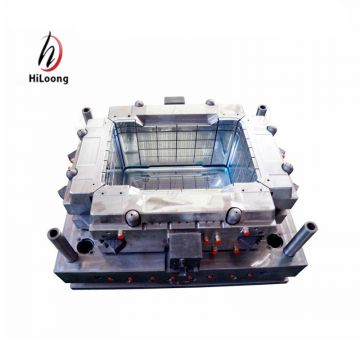 plastic mould design crate mould making