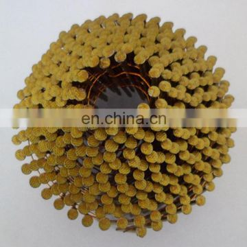 Carbon Steel Conical Type Ring Shank Wire Coil Nails