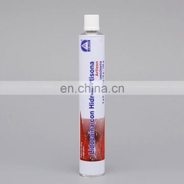 Cosmetics Tube Packaging Collapsible Aluminum Hand Cream Tube