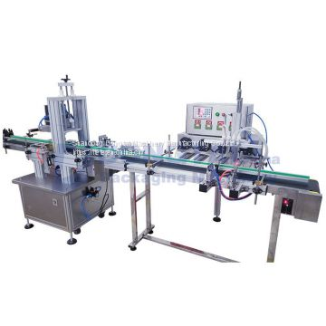 Liquid Filling And Capping Machine  Automatic filling and capping machine