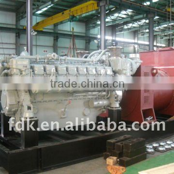 1600kw MTU diesel generator 16V165TS3-3D of MTU engine