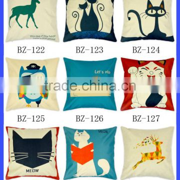 bulk wholesale ship fast in stock funny christmas home decorative washable pillow case