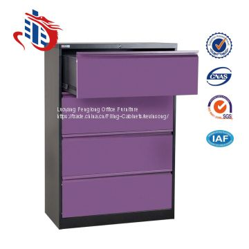 High quality office furniture 4 drawer metal file cabinets
