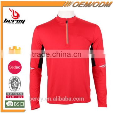 BEROY best reflective running sportswear tops for men, stylish winter running clothing
