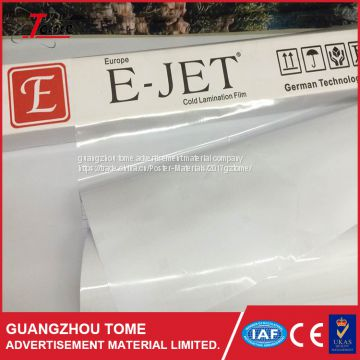 Factory Price Environmental Cold Lamination Film / photo Self Adhesive Cold Lamination Film