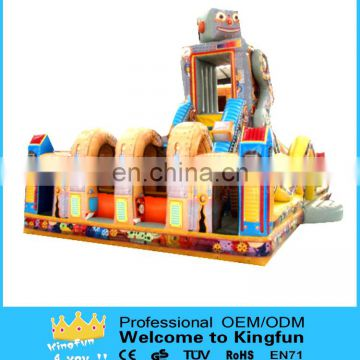 Customzied inflatable obstacle games /inflatable playground toys