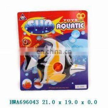 2012 novelty 15cm wind up swimming fish toy