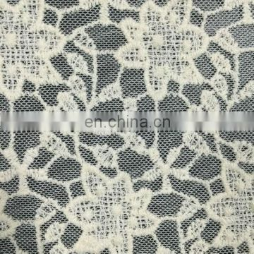 nylon net mesh embroidery cotton lace fabric used on garment