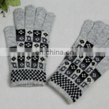 Girls' lovely knit cashmere gloves (JDG-S1B-1314)