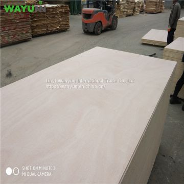 China BBCC grade Okoume bintangor commercial plywood for furniture