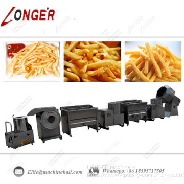 Commercial French Fries Production Line