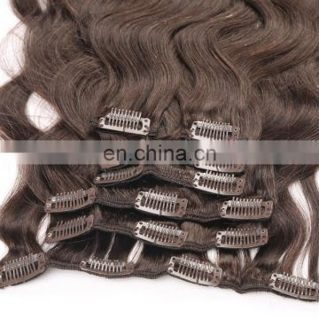 wholesale mink cilp in hair extension factory
