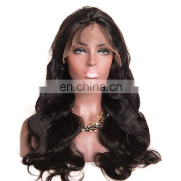 Middle part wigs natural hairline full lace wig