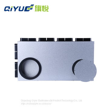 Plastic Pipe Fittings Flat Pipe Vent PIpe Price for Central Ventilation System