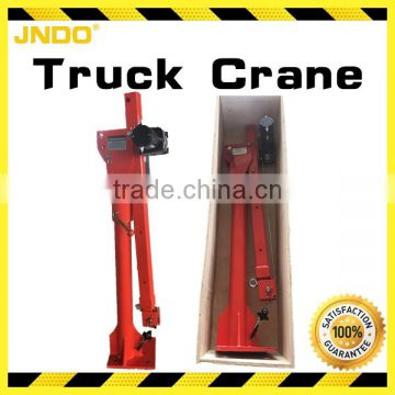 24V DC electric truck pick up crane with regenerative wooden packing