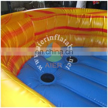 fantasy orange inflatable water slide pool high for adults kids