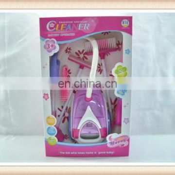 children electronic playing toy cleaning set,vacuum cleaner toy