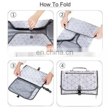 Elinfant High Quality Portable Baby Diaper Changing Pad Bag