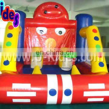 carnival-theme two hoops Inflatable basketball game for carnival