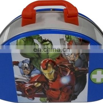Super Heroes Lunch Tin Box