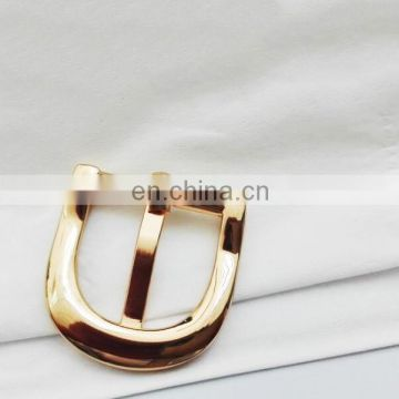 high quality gold plating customized buckle purses