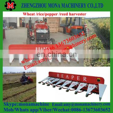 High Speed Widely Used mini reed reaper/ reed harvestor/paddy reaper with good quality