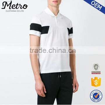 OEM new design color combination sports polo shirt with customized logo                                                                         Quality Choice