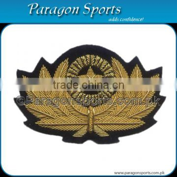 Handmade Bullion Embroidered Cap Badge PS-220