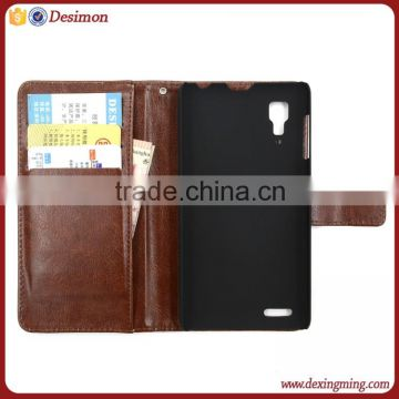 new products 2015 original cell phone case for lenovo p780 leather case