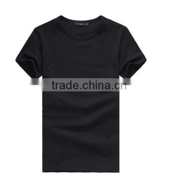 Wholesale solid color plain t shirt custom t shirt 100% cotton election t shirts