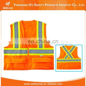 Safety clothing China custom logo reflective vest