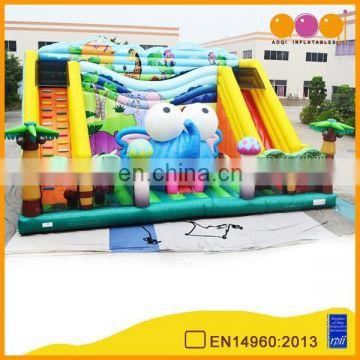 2015 new design jungle inflatable park