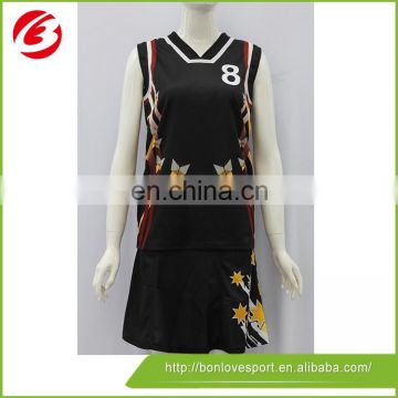 Cheap Fashionable Sublimated Basketball Jersey Design Oem Of