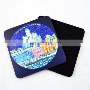 high quality printed promotional the cup pad