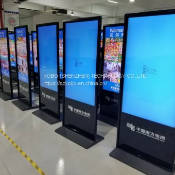 New Arrival 55 Inch digital signage player with software vga/usb/sd Lcd advertising player Network Video Digital Signage
