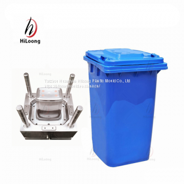 plastic injection mould cover mould for trash can mould