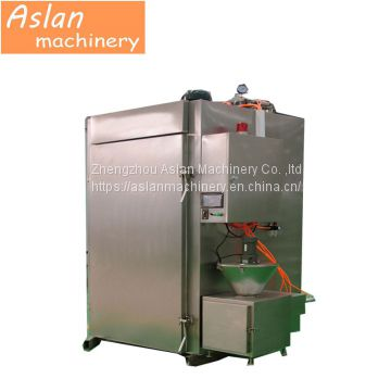 automatic meat suasage smoking machine/pork bacon smoke house oven/commervial fish salmon smoker  equipment