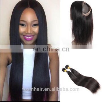 360 lace frontal with bundles, natural hairline 360 lace frontal closure silk base 360 lace frontal