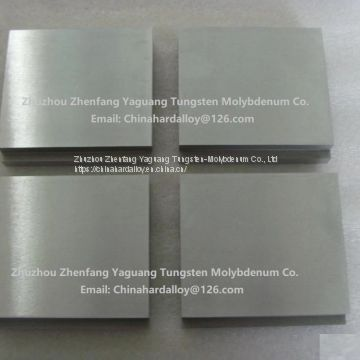 Ground Molybdenum Plate Moly Plate