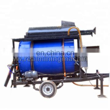 2018 popular China usedgold washing plant for sale gold trommel wash plant plans gold mining equipment wash plant