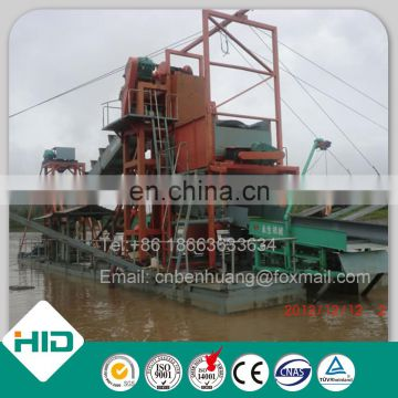 Gold Sieving Machine Bucket Gold Dredge for Sale