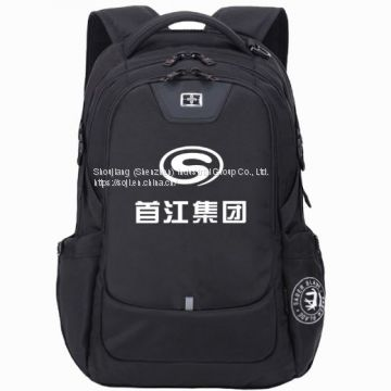 Business Backpack Enterprise Customized Printing Logo Customized Shoulder Bag Computer Bag Printed Bookbag Customized Shoulder Backpack Male